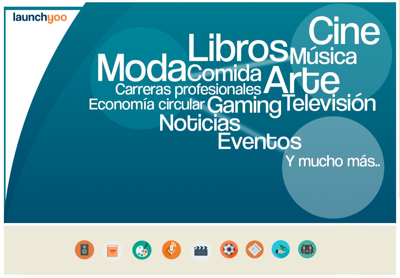 Los perfiles especiales en la nueva red social Launchyoo